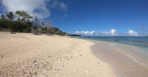 Lovely beach on Uonokuhahaki Island