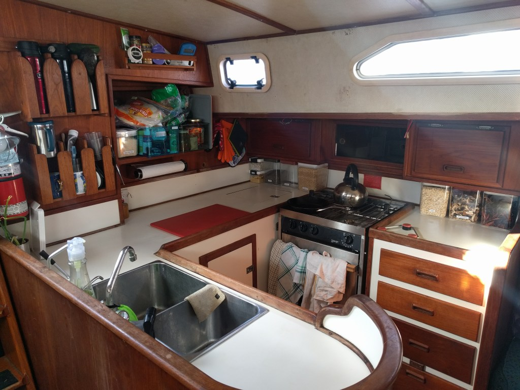 galley on eurybia