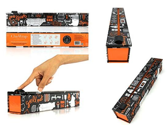 Sturdy Aluminum Foil Dispenser with Integral Cutter
