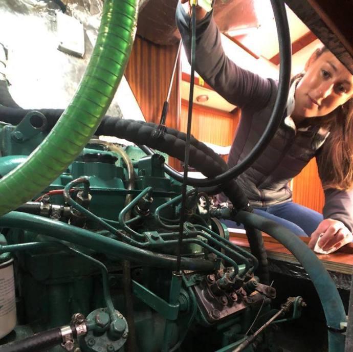 Yacht Diesel engine checks