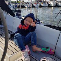 Isa op Sailing Isis