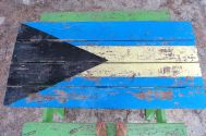 Bahamas pride in the form of a picnic table ☺