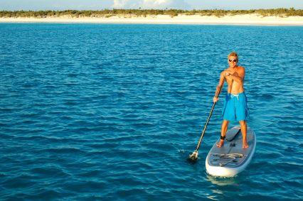 A sunset paddle!