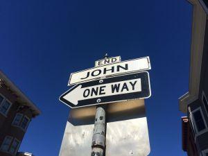 Goodbye, John St!