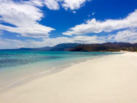Magnificent beach at Bahia Los Muertos.