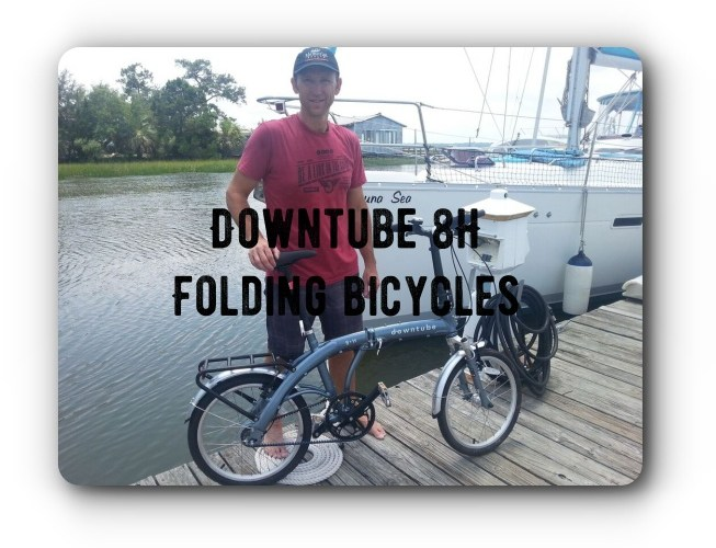 downtube 8h folding bicycles