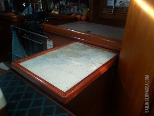 Sailing Luna Sea folding table project
