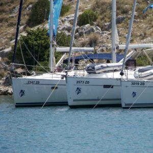 Training, flotilla style, in Croatia