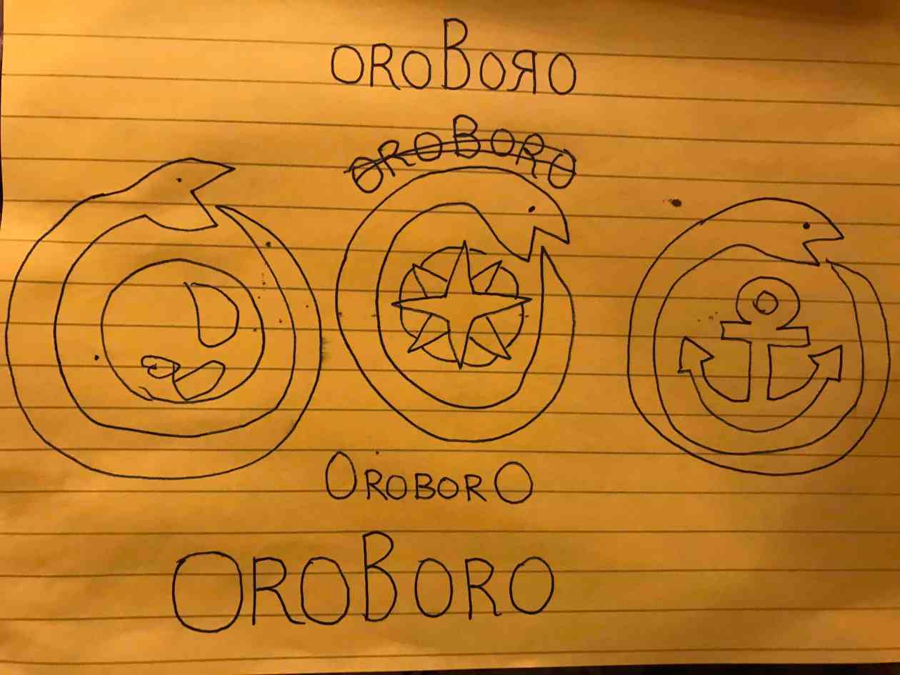 Oroboro sketch by Yuka