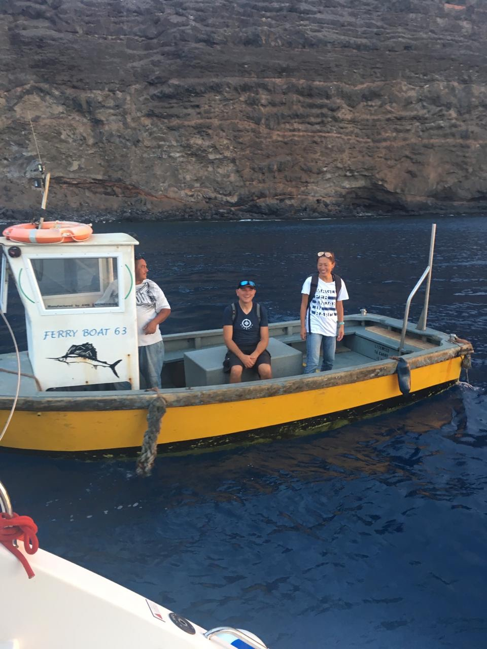 Our Uber on St Helena island