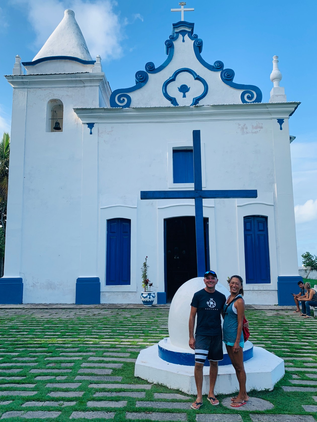 Santa Cruz Cabralia church