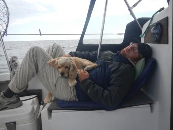 Sleeping off the miles