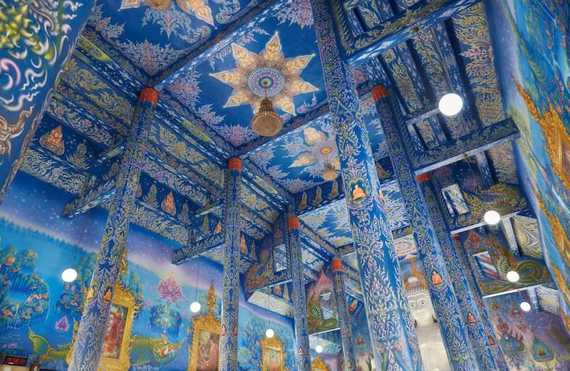 Wat Rong Khun Painting