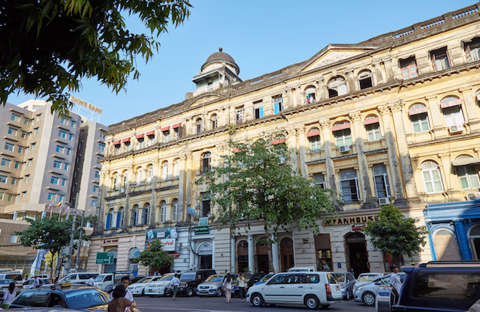Lokanat Building Yangon