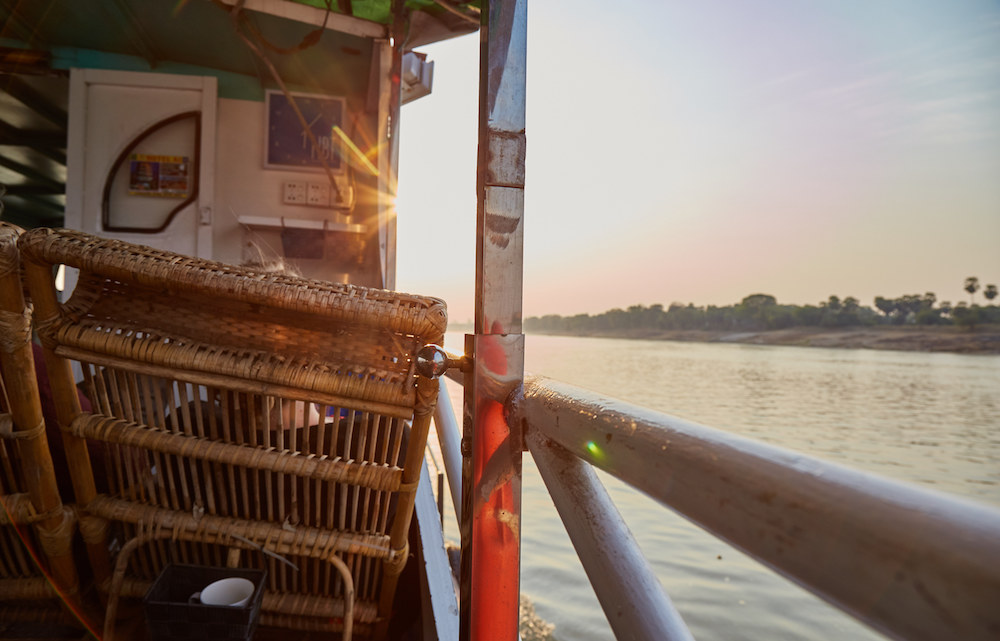 Irrawaddy River Cruise Boat