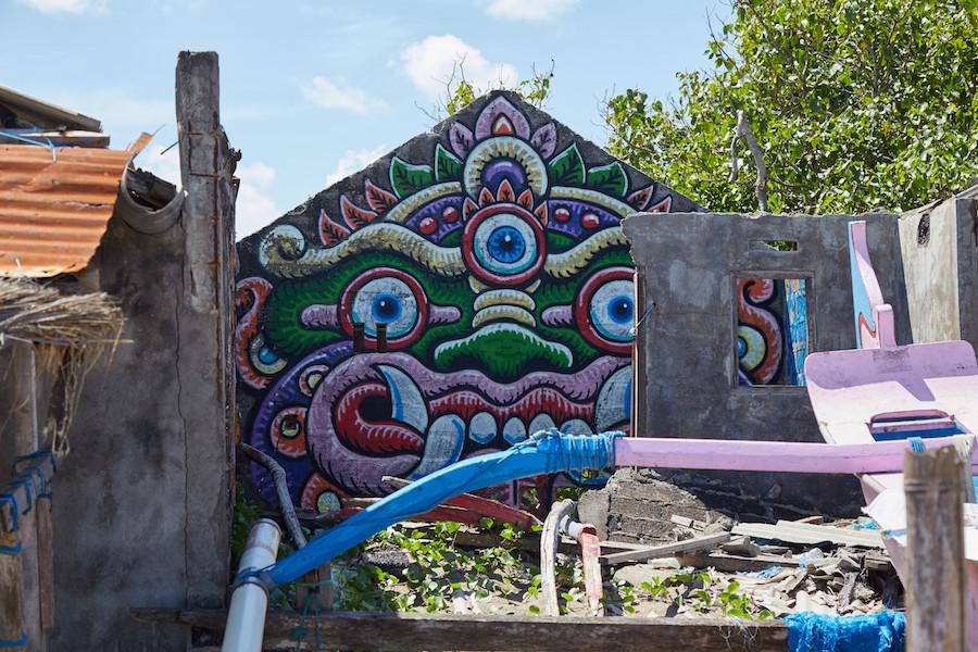 Bali Street Art Mask