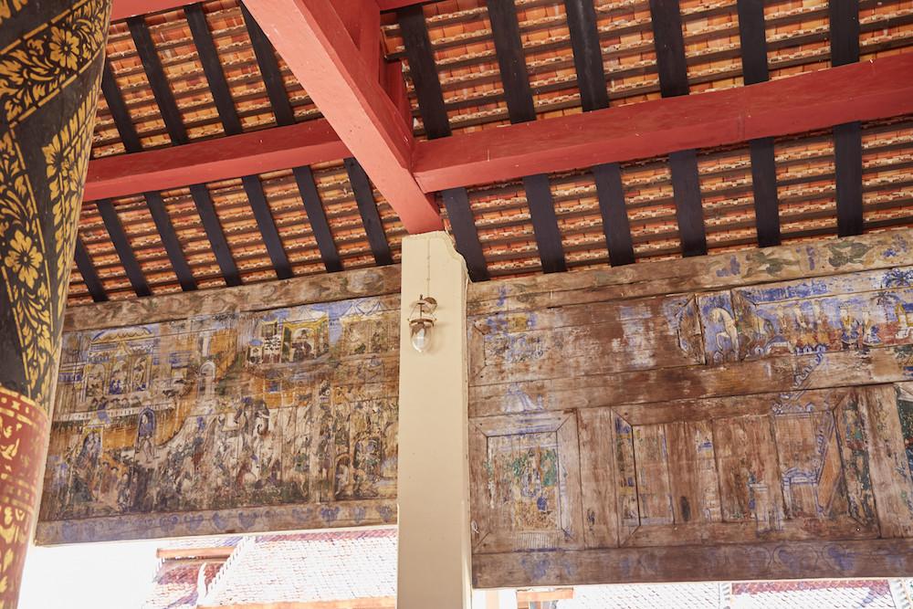 Lampang Luang Temple Murals