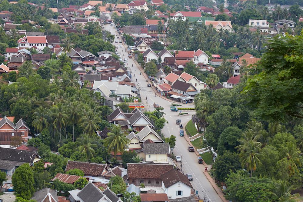 Luang Prabang Aerial View