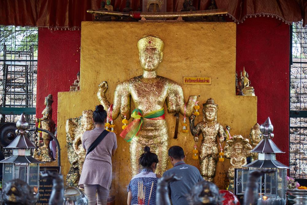 Vishnu Statue Lopburi