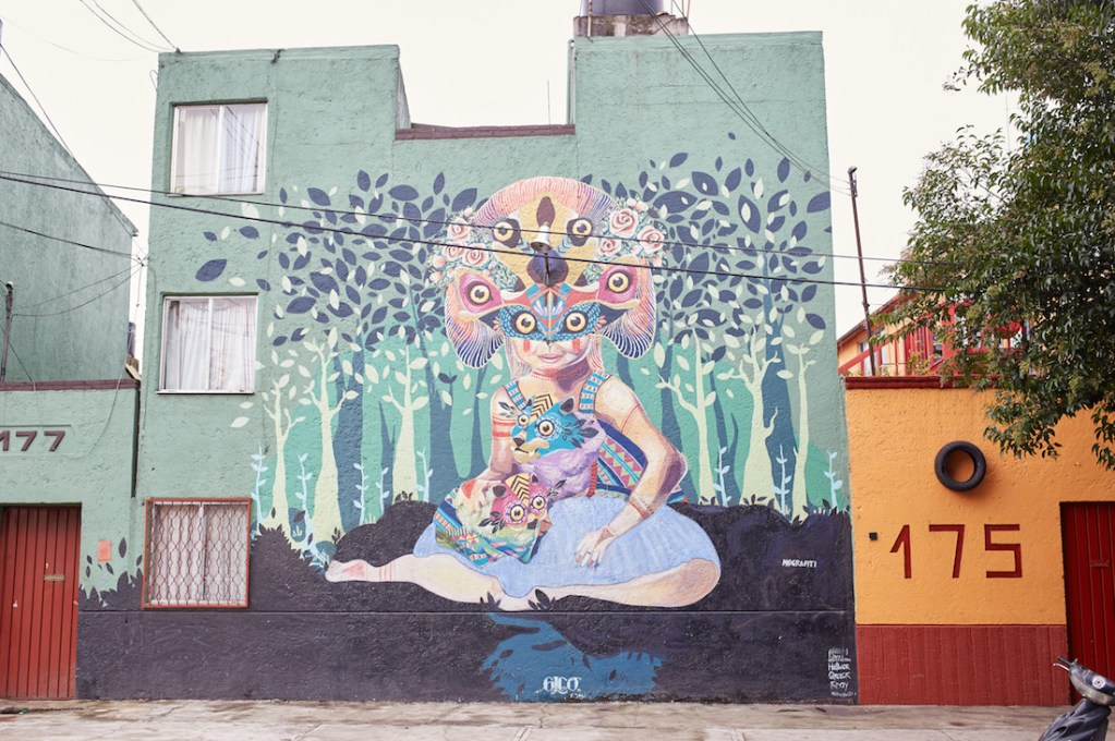 Doctores Mural Mexico City Street Art