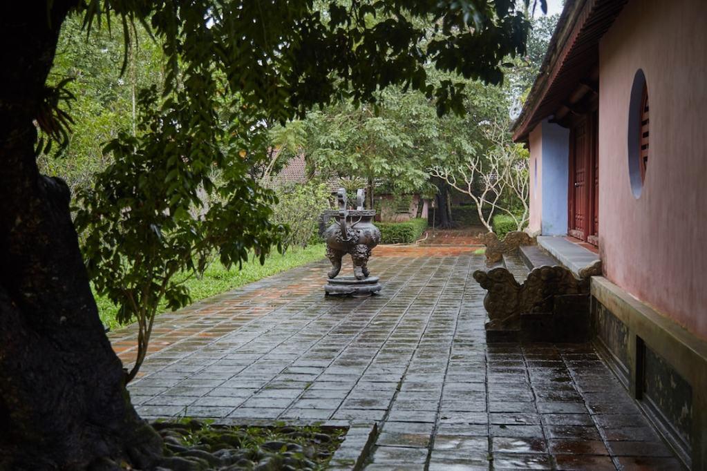 Thien Mu Pagoda Pavilion