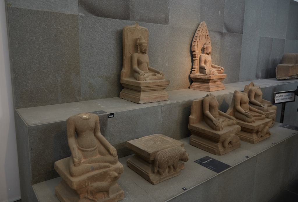 Various Group B Statues