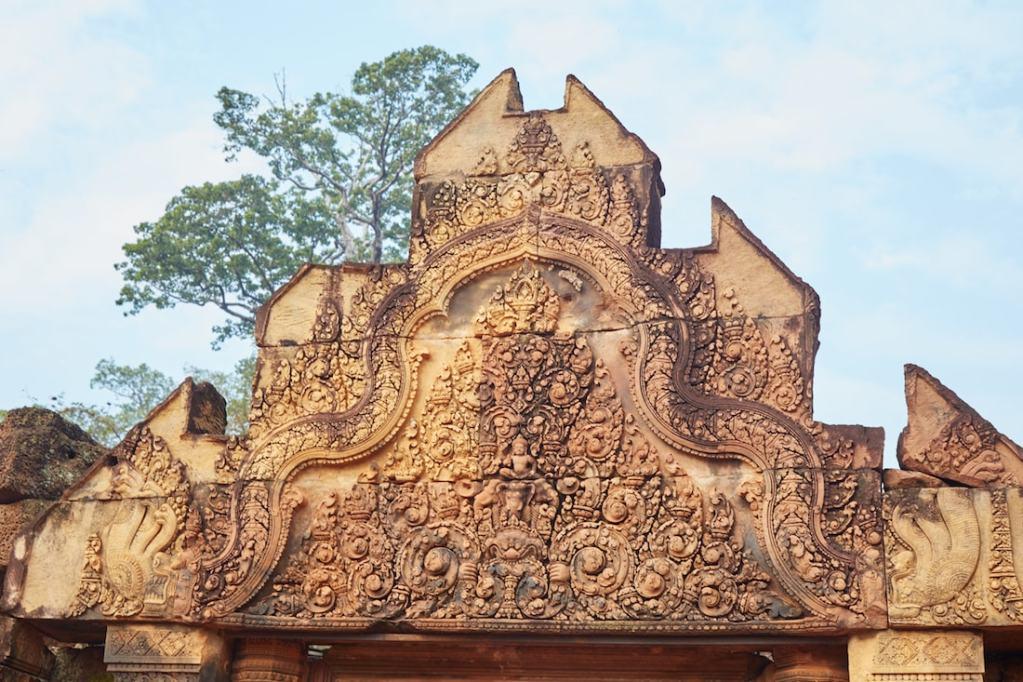 Banteay Srei Pediment