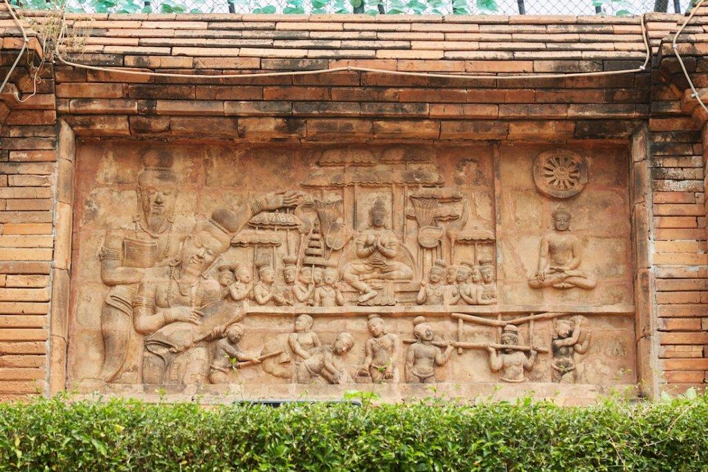 Chama Thewi Shrine Lamphun