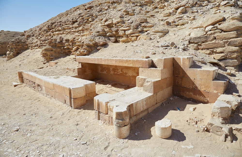 Djoser Step Pyramid Southern Buildings