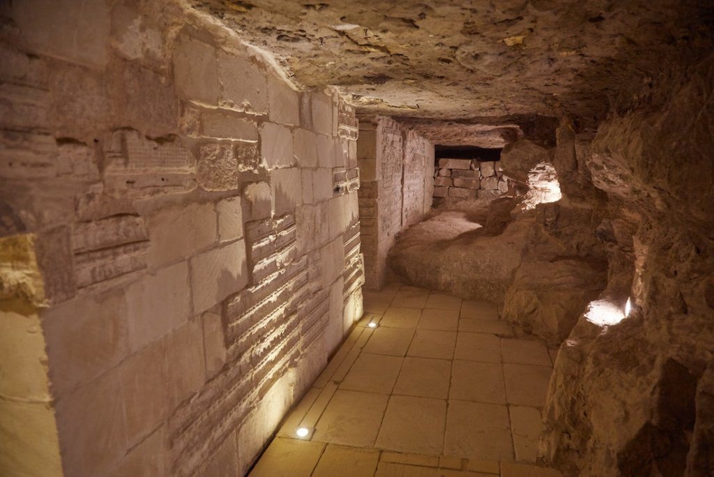 Inside the Step Pyramid of Djoser North Entrance
