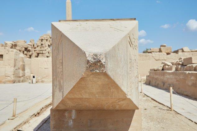 Karnak Temple Guide Fallen Obelisk