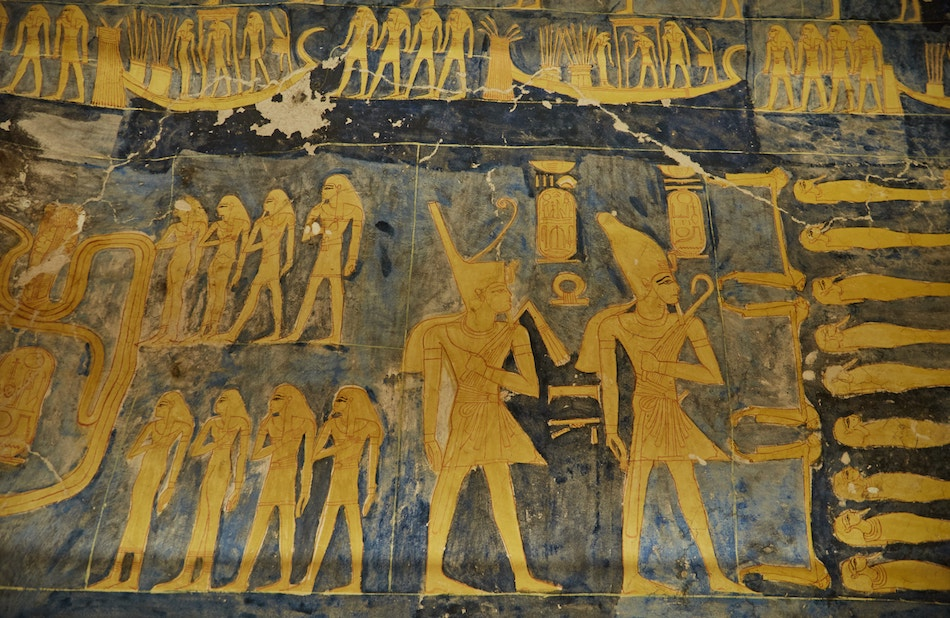 Ramesses IX Tomb Valley of the Kings Guide