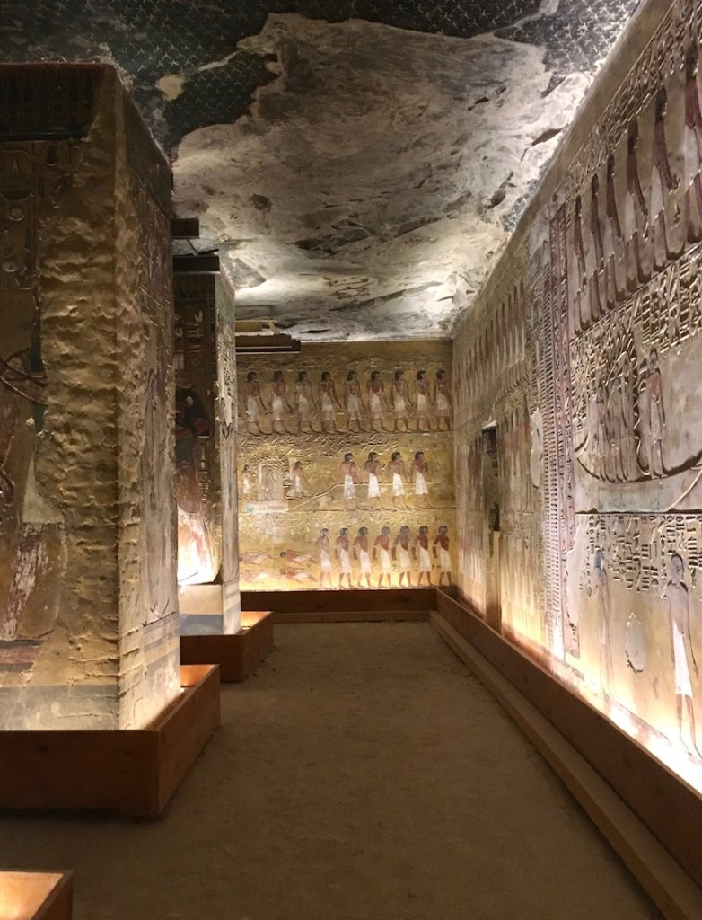 Seti I Tomb Guide to the Valley of the Kings