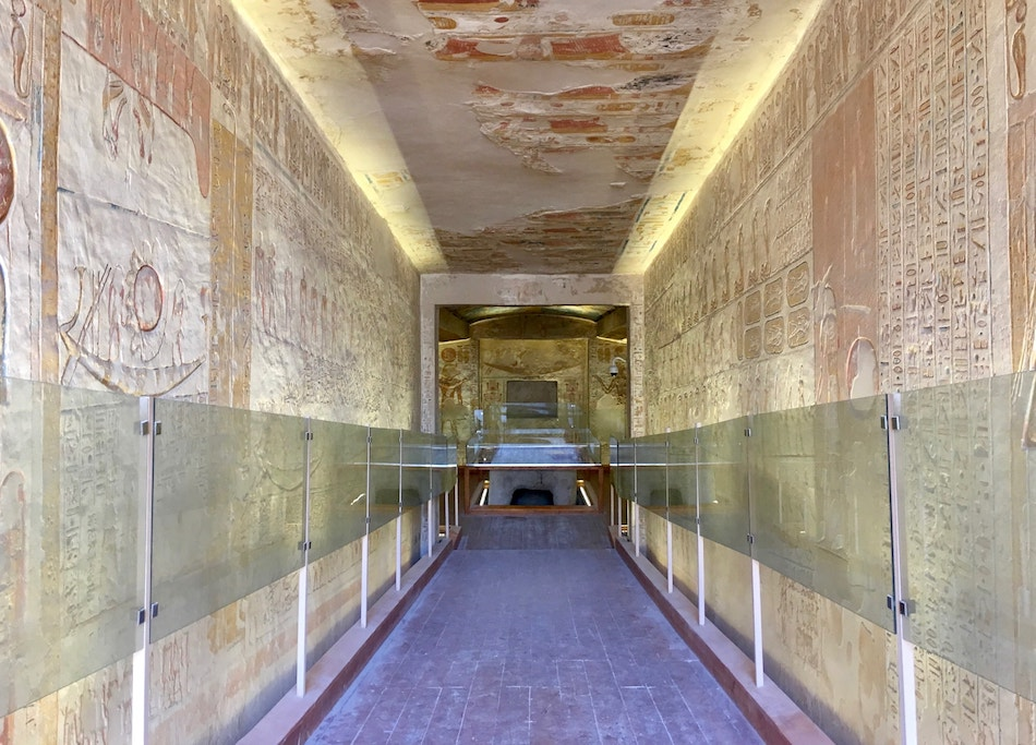 Ramesses VII Tomb Valley of the Kings Guide