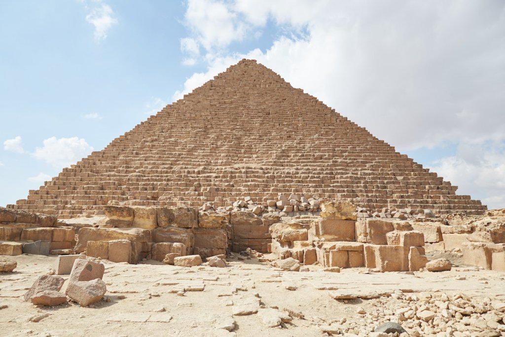 Pyramid of Menkaure 4th Dynasty Pyramids