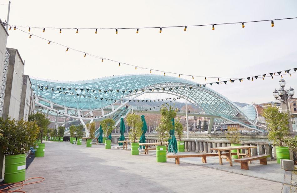 Bridge of Peace Old Tbilisi Guide