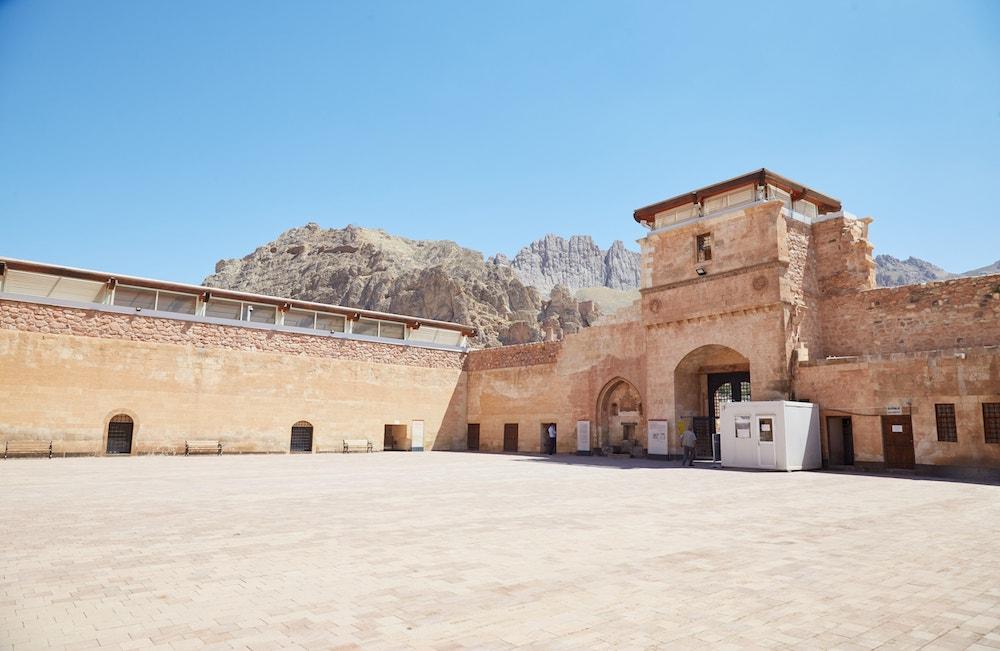 Ishak Pasha Palace First Courtyard