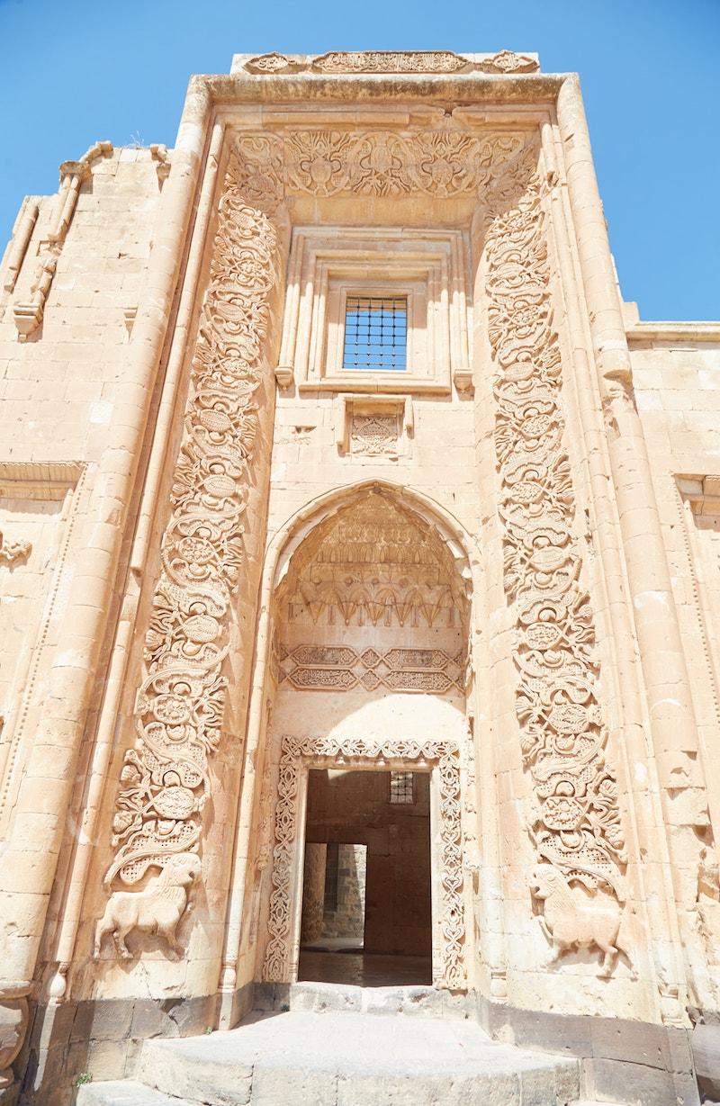 Ishak Pasha Palace Second Courtyard