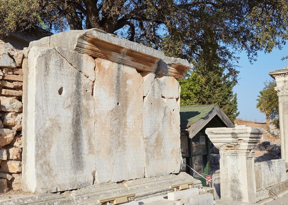 Around Curetes Street Ephesus Guide