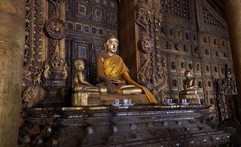 Teak Monastery Buddha