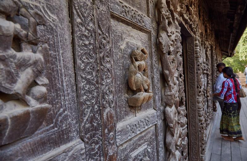 Teak Monastery Mandalay