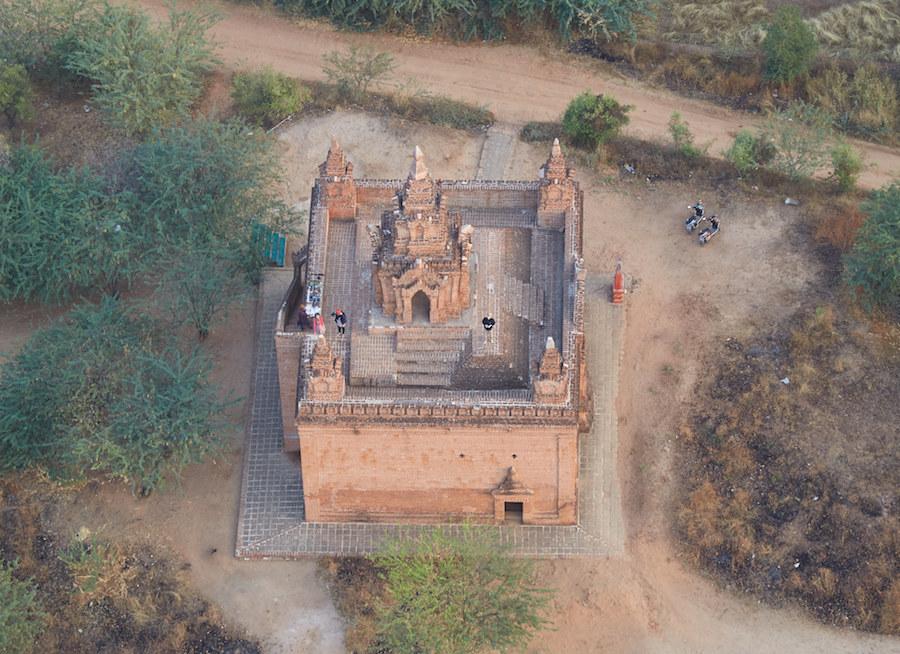 Bagan Temple Aerial
