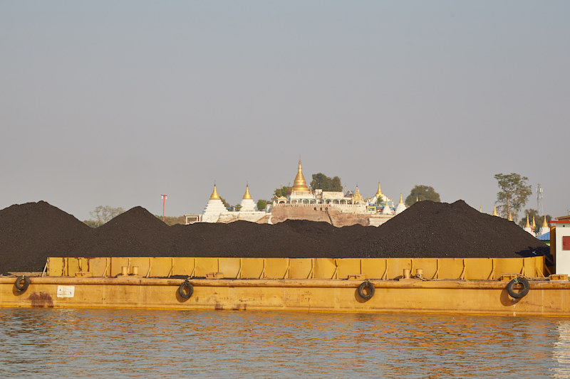 Irrawaddy River Coal