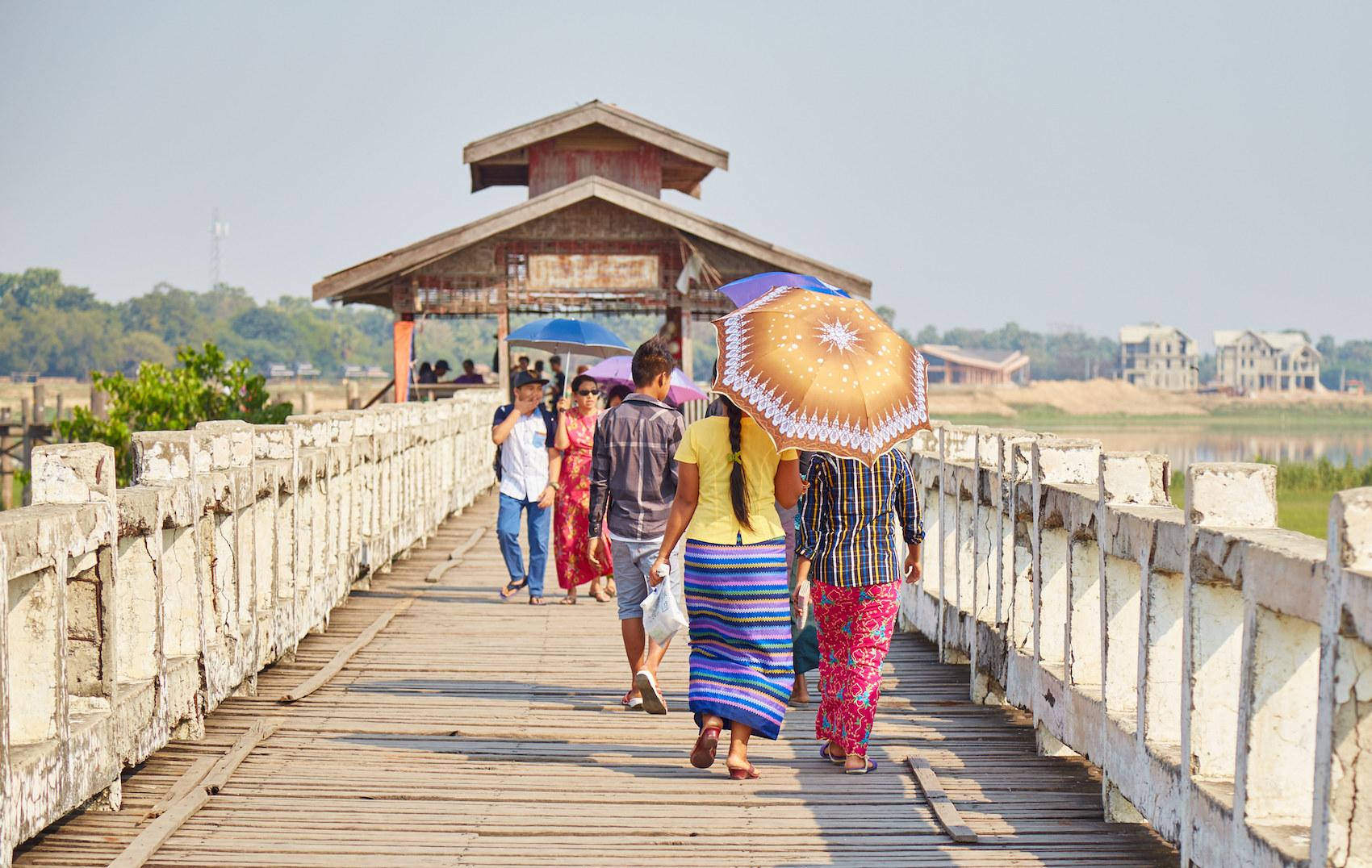 Amarapura U Bein Bridge