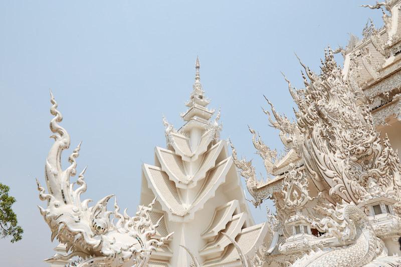 Chiang Rai Temple Roof