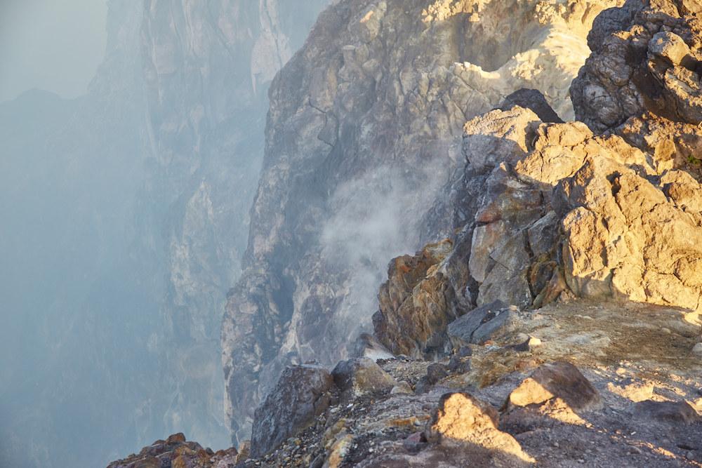 Smoke Arising from Mt. Merapi, Yogyakarta