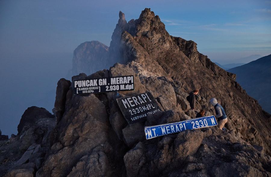 Mt. Merapi Peak, Yogyakarta, Indonesia