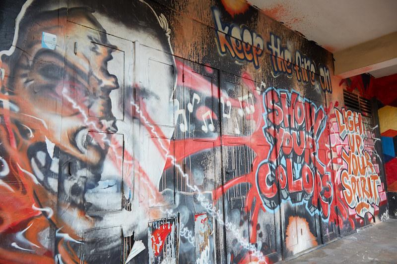 Northern Yogyakarta Mural