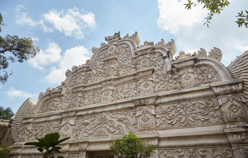 Jogja Water Palace Gate