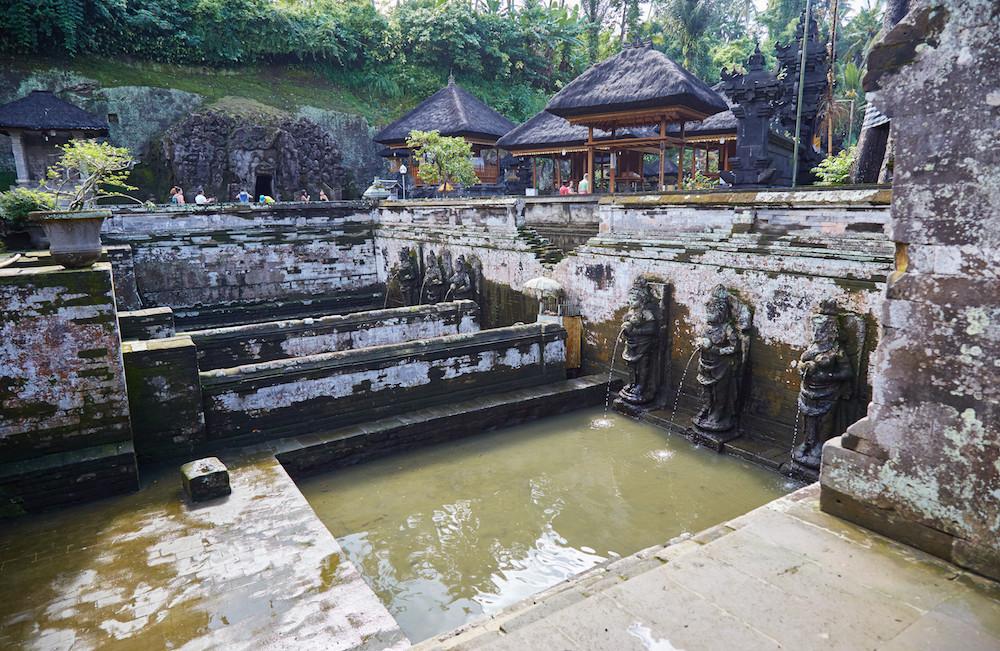 Goa Gajah Fountain
